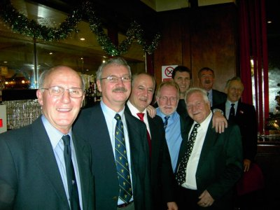 Iain Lazarus, John Drury, Nick the Greek, Davie Poole, Davie Maclennan, The Ginger Gypsy, Davie Wright and Derek Border