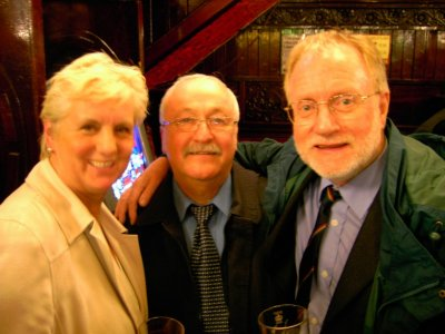 Linda Poole, Laurie Donlan and Davie Poole